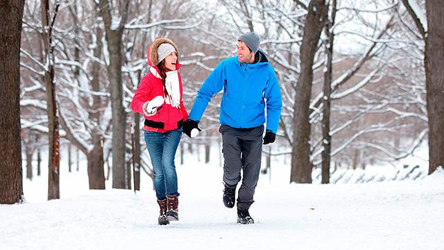 Winterliche Liebe