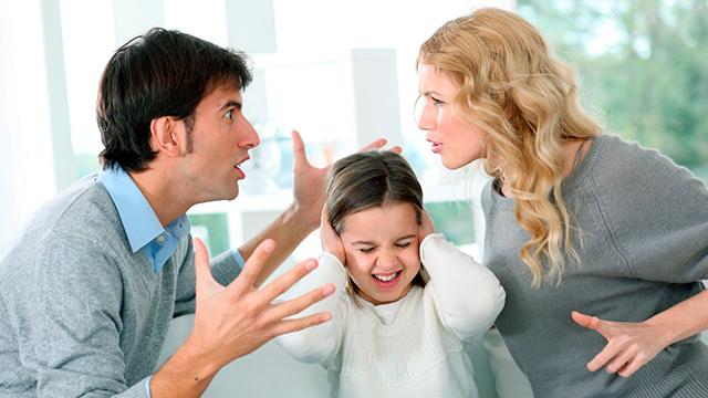 Familienkonflikt