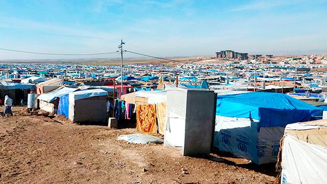 Zeltlager im Irak