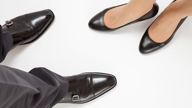 Beine von Frau und Mann (c) 123rf