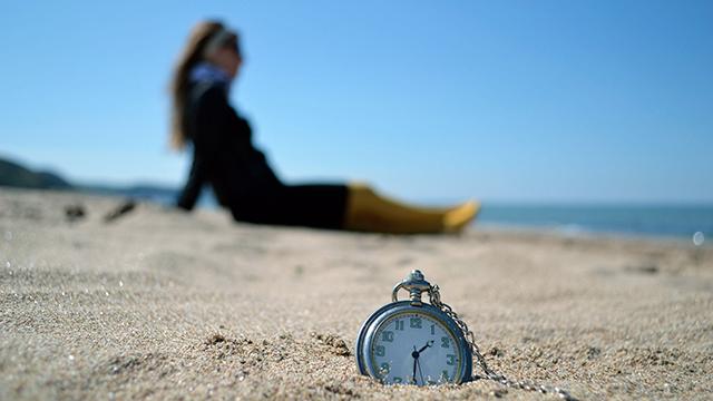 Entspannung trotz laufender Zeit