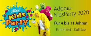 Adonia Kids Party | Mobile Vertical