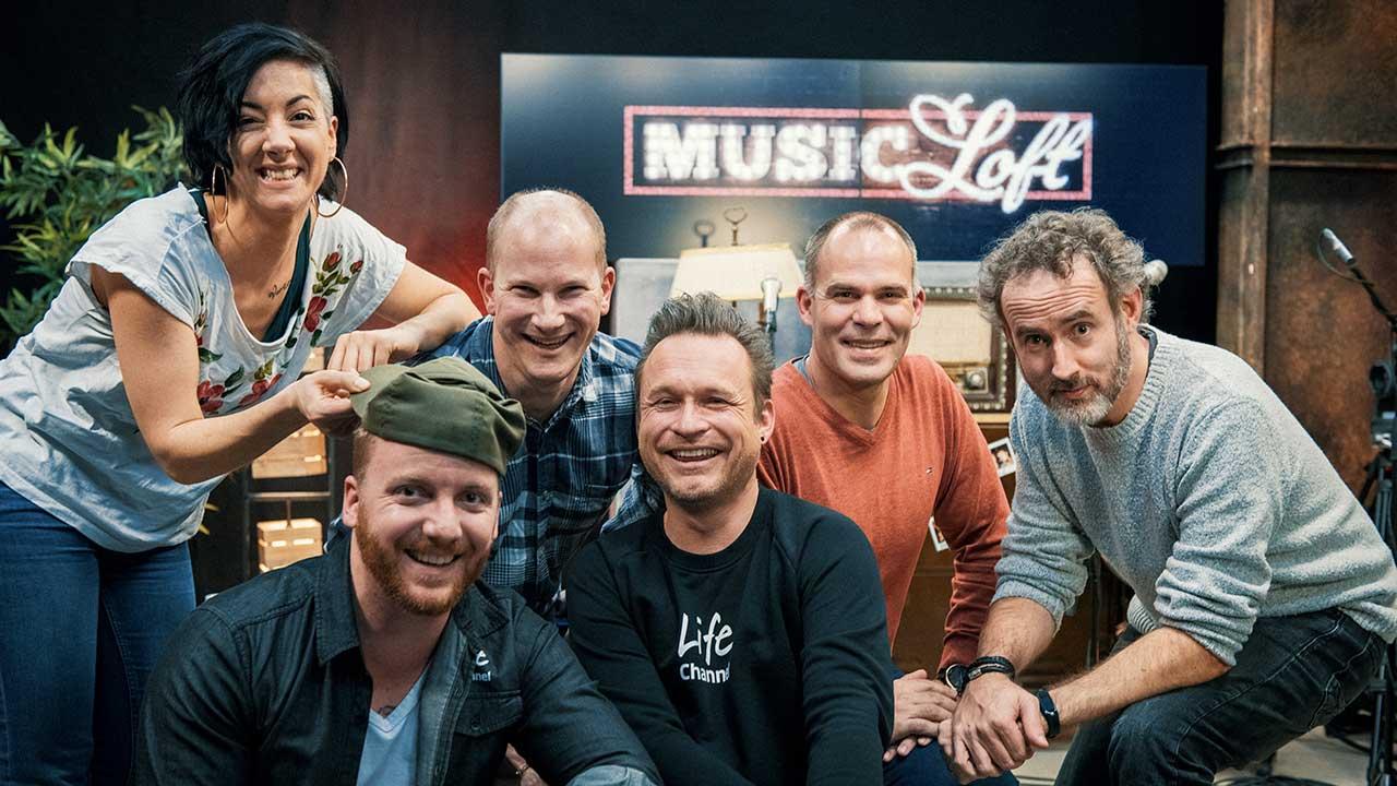 Band Spiegelbild mit den Musikredaktoren Patrick Forster und Simon Müller