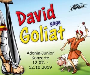 David gäge Goliat | Mobile Rectangle