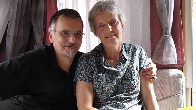 Rainer und Elisabeth Salathé | (c) ERF Medien