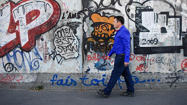 Graffiti an der Berliner Mauer | (c) ERF Medien