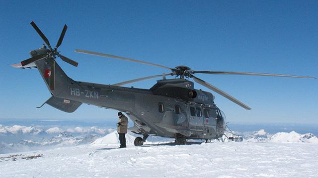 Schweizer Armeehelikopter | (c) ERF Medien