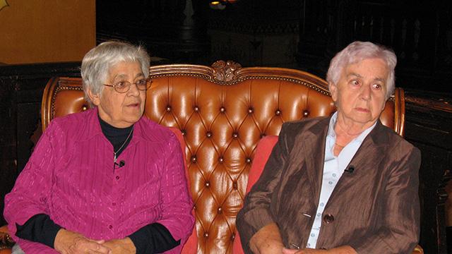 Chlaus-Hoeck mit Grandes Dames | (c) unbekannt