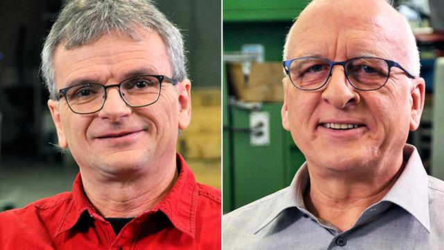 Sandro Galanti und René Bregenzer