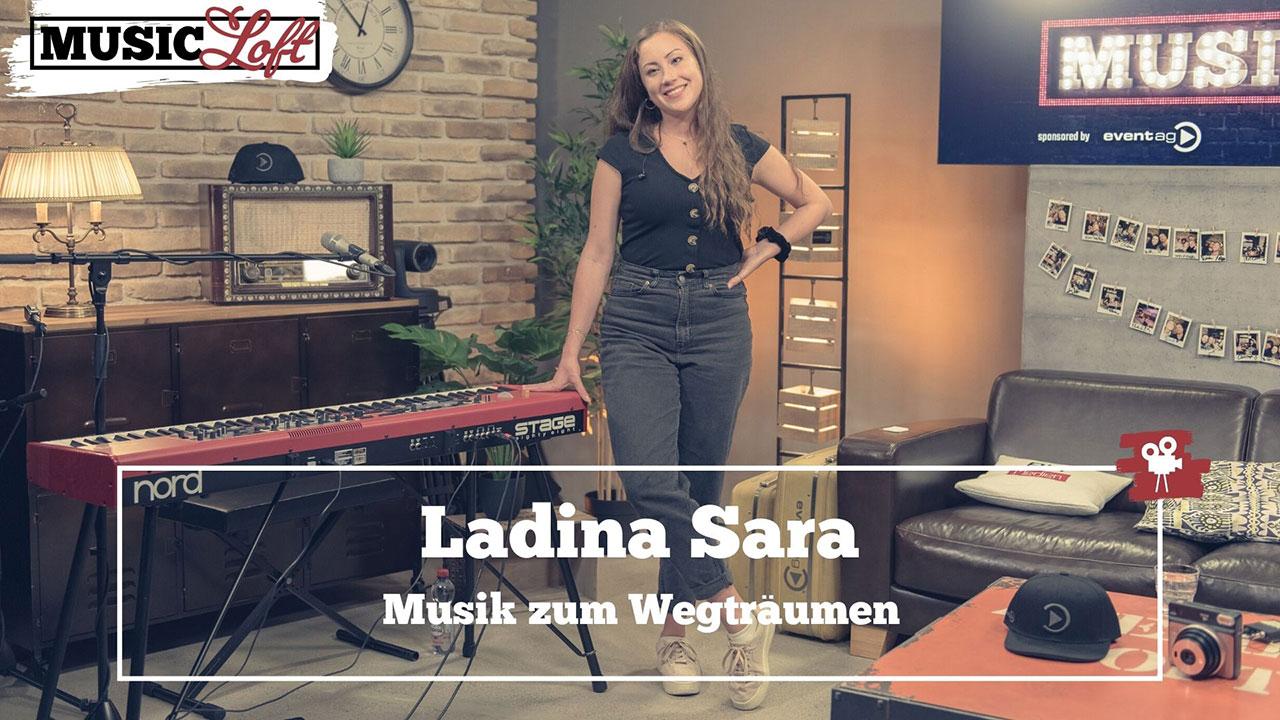 Ladina Sara in der Music Loft