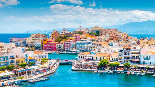 Hafen in Kreta