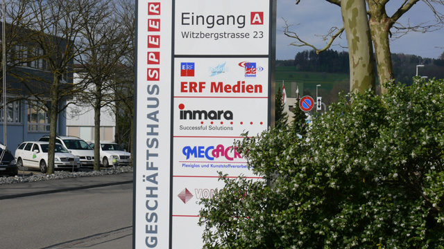 Gebäude ERF Medien