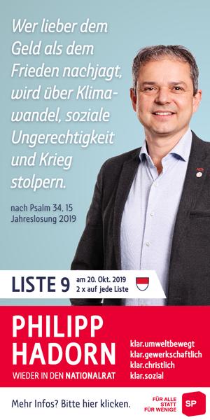 Philipp Hadorn   Half Page