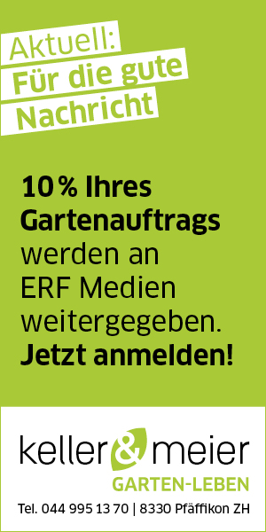 10% Ihres Gartenauftrages | half page