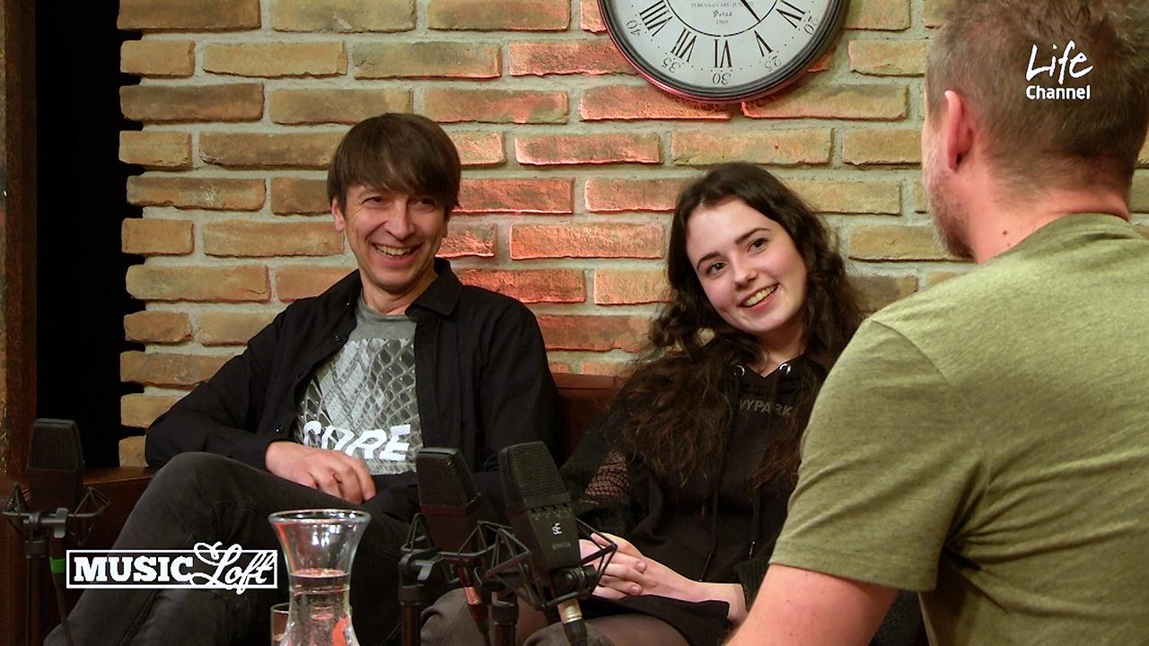 Adina Mitchell und Florian Sitzmann im Music Loft   (c) ERF Medien