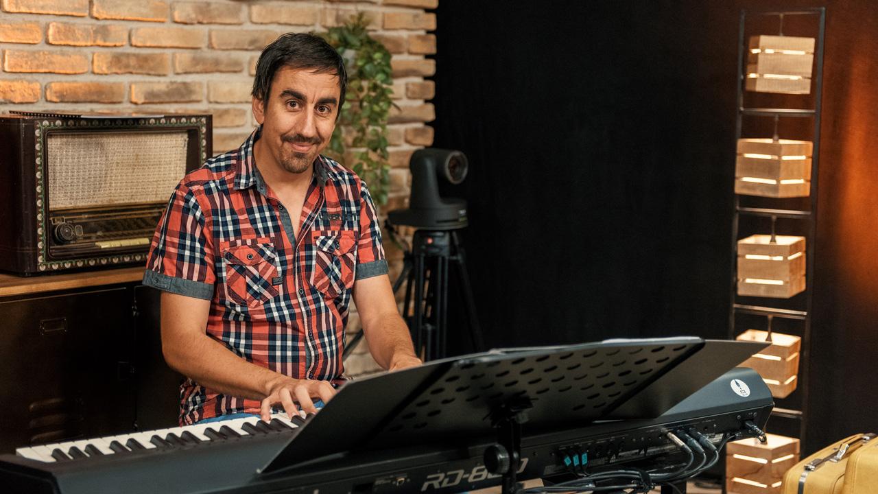 Christoph Senn in der Music Loft