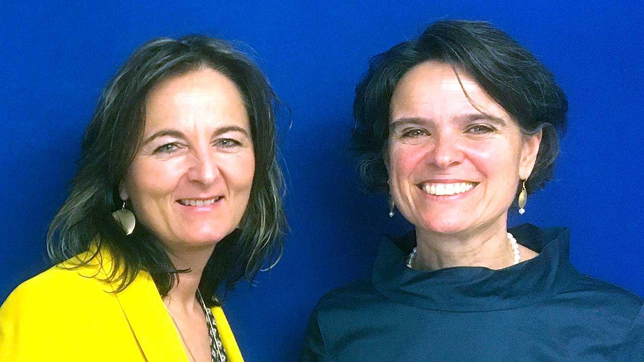 Susanna Aerne und Sabine Fürbringer