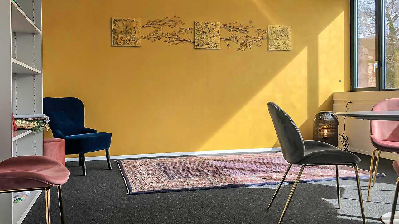 Raum der Stille im Bundesasylzentrum Kreuzlingen