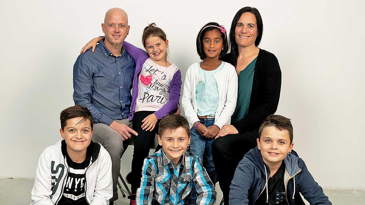 Michael Dufner und Familie