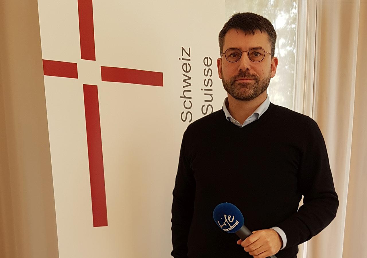 EKS Präsident Gottfried Locher | (c) ERF Medien