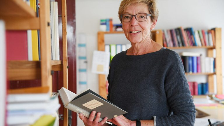 Elsbeth Abegg auf neuen Wegen | (c) Madleine Schoder/Landbote