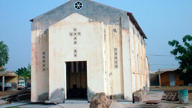 Katholische Kirche in Rosso, Mauretanien