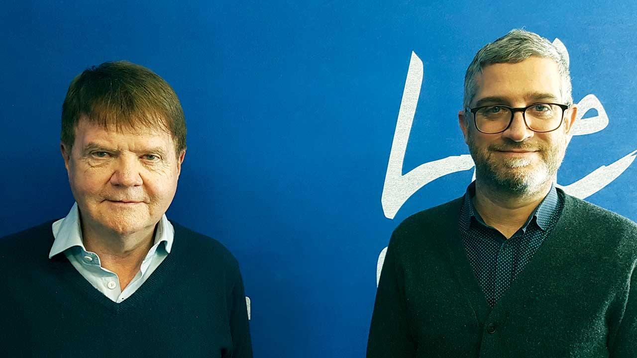 Michael Meier (Tages-Anzeiger) und Simon Hehli (NZZ)