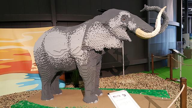 Lego-Elefant «Earl Grey»