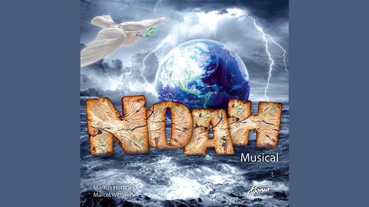 Cover des Adonia-Musicals «Noah»