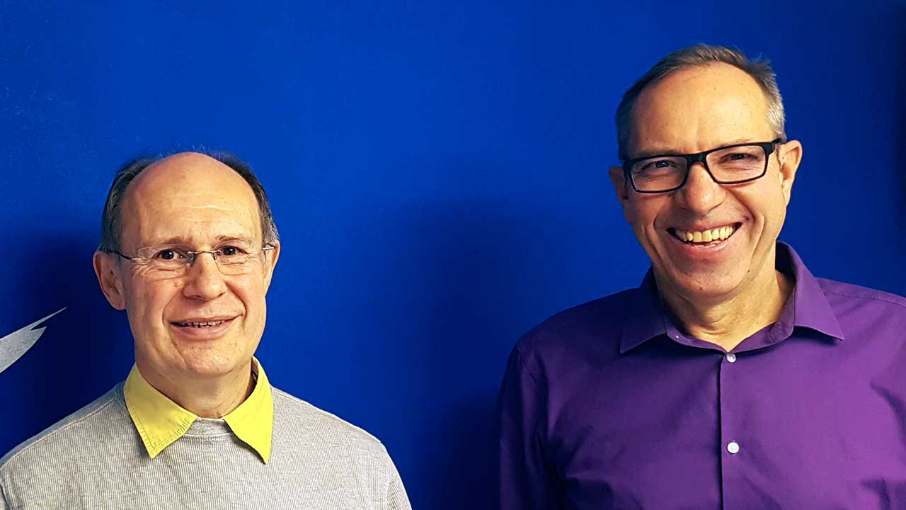 Pfarrer Jörg Niederer (EMK) und Kantonsrat Hans Egli (EDU)