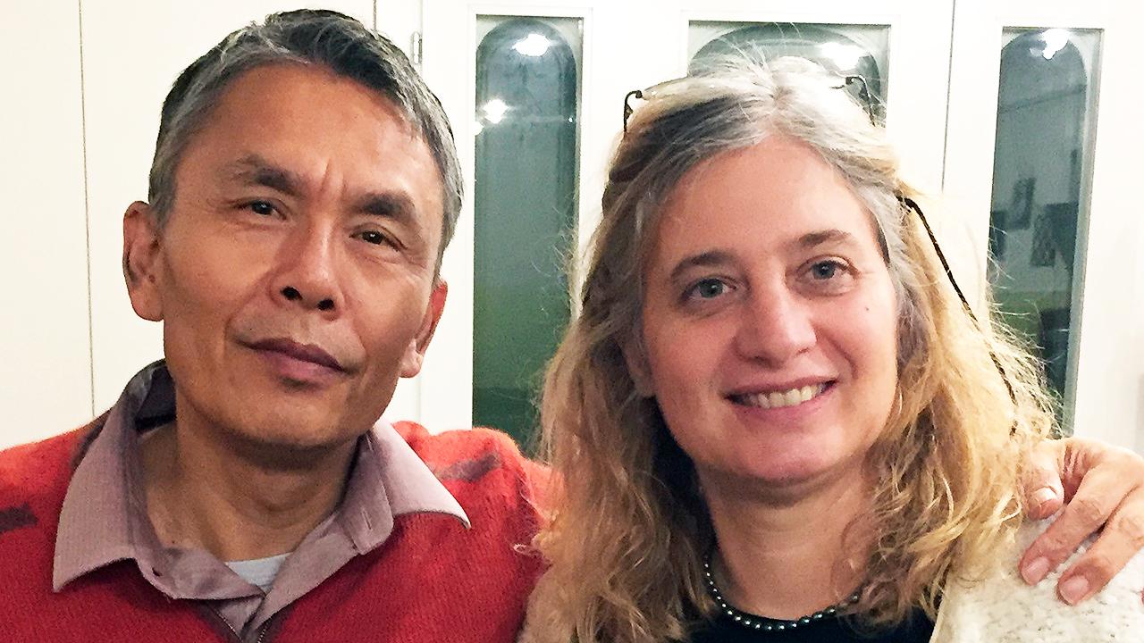 Weiqing und Monika Tian