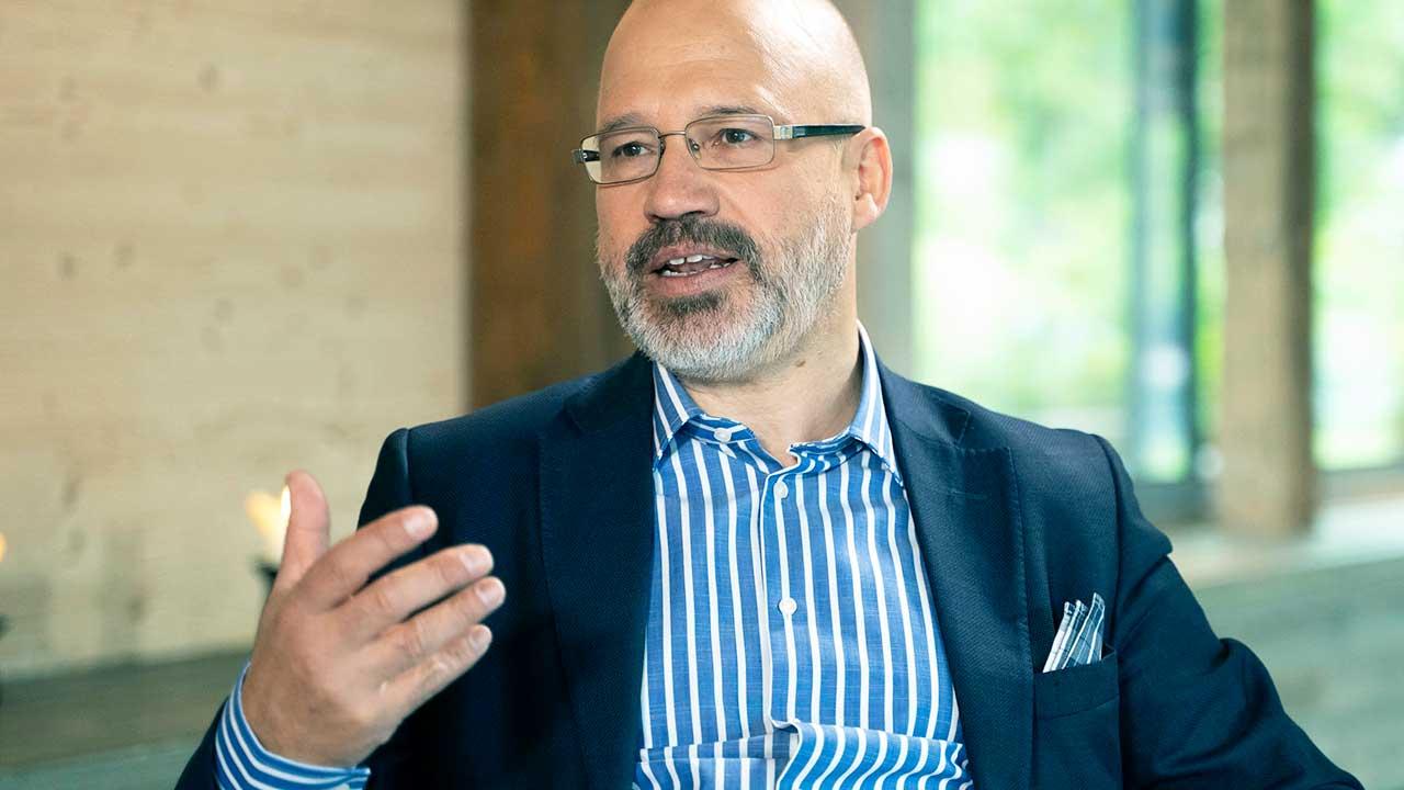 Zukunftsforscher Andreas M. Walker im Gespräch