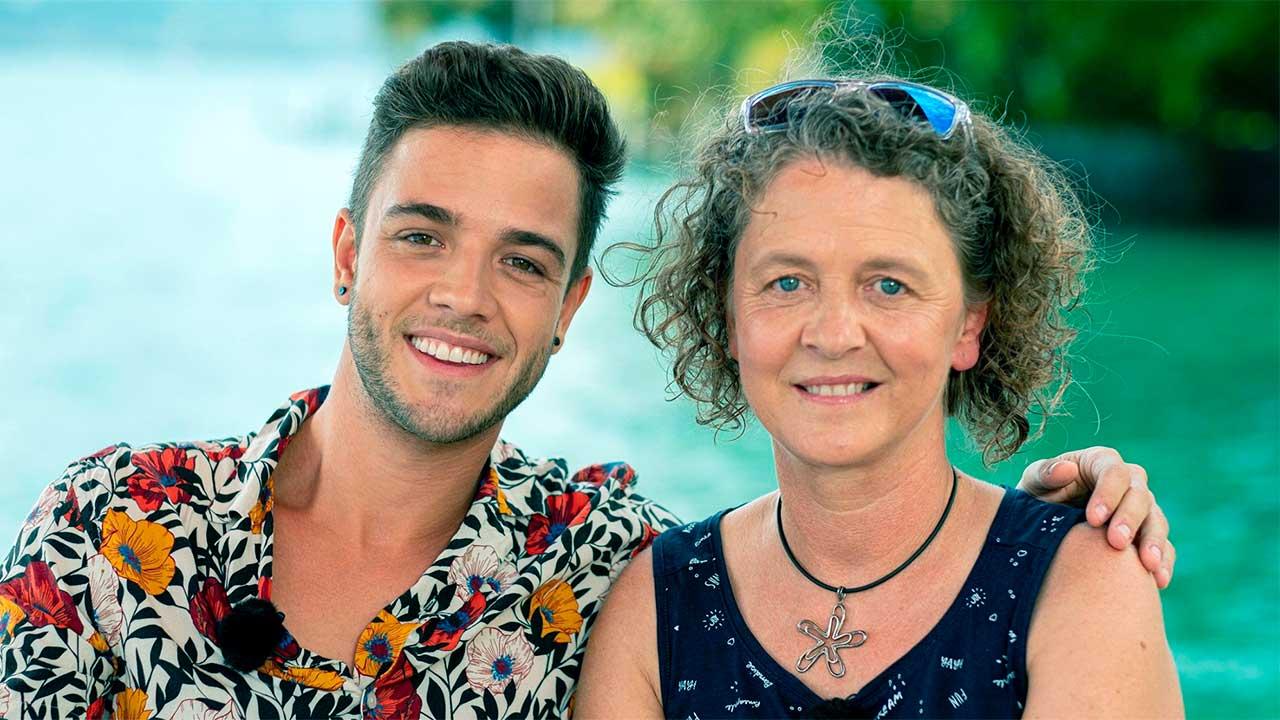 Luca Hänni mit Mutter Marianne | (c) ERF Medien