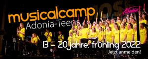 Adonia   Musical Camp Teens   Mobile Vertical