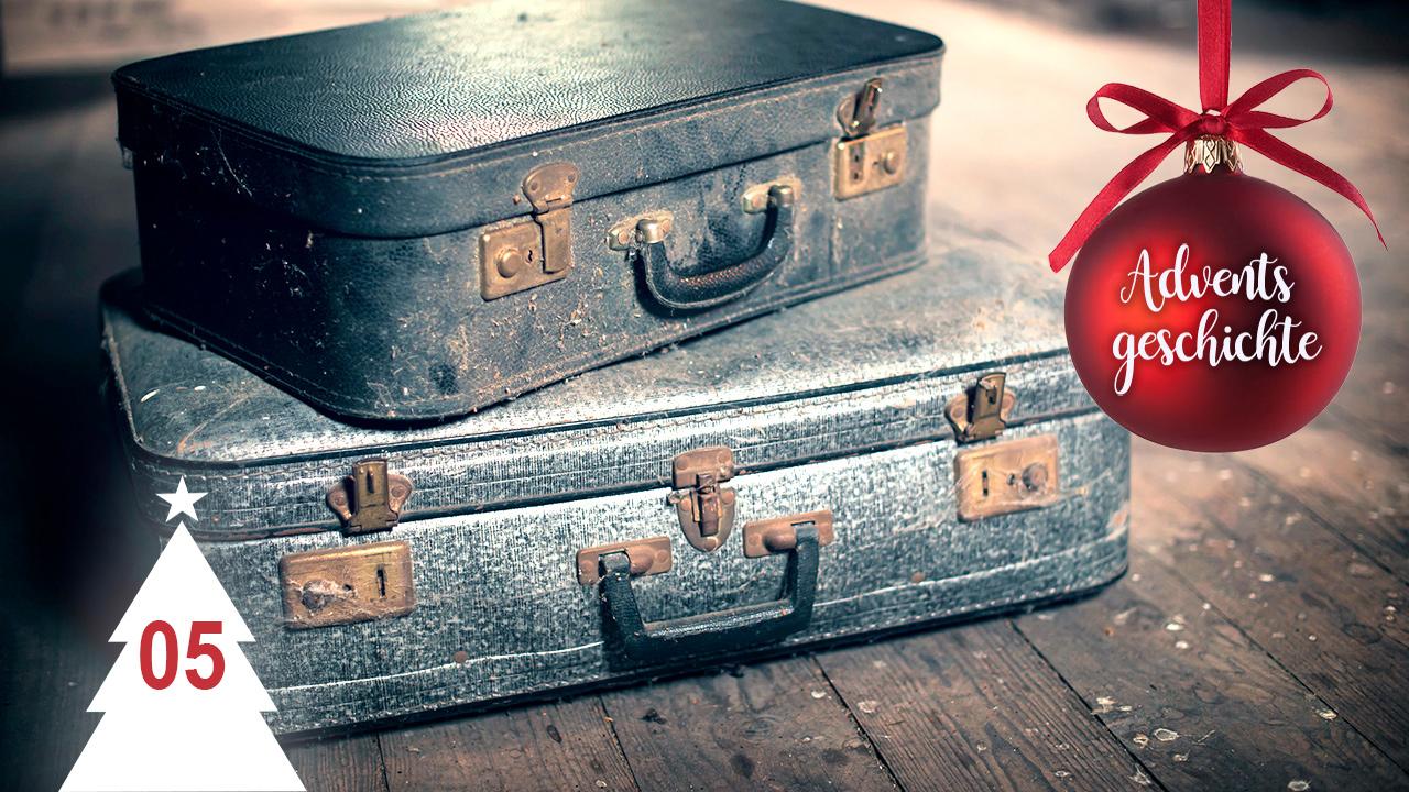 Koffern auf dem Dachboden