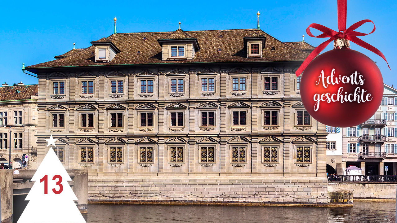 Rathaus von Zürich