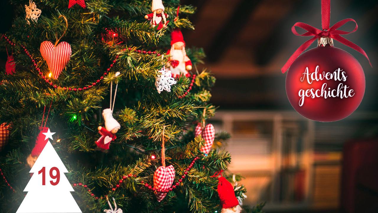 Schmuck am Weihnachtsbaum