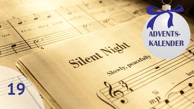 Noten von «Stille Nacht»