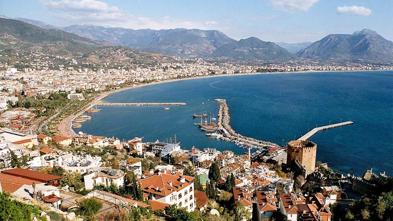 Blick auf Alanya in der Türkei | (c) Eichwald/Wikipedia