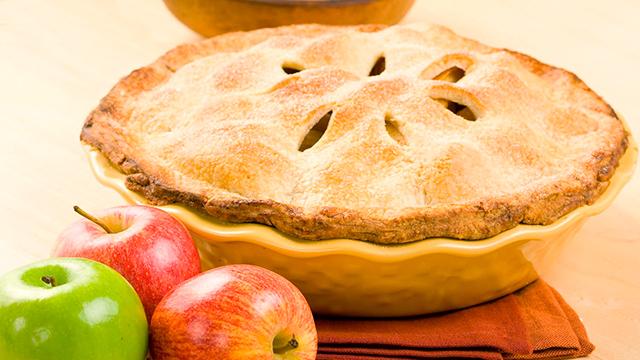 Überbackene Äpfel