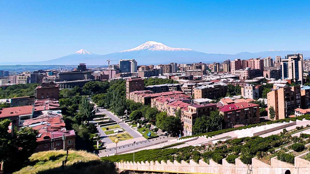 Erewan, Hauptstadt von Armenien