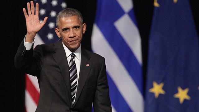 Barack Obama in Athen 2016