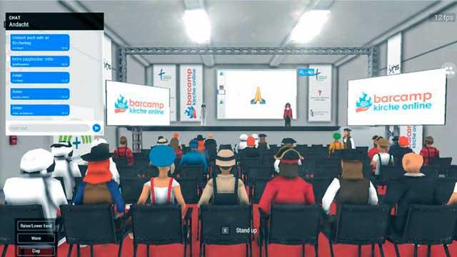 Virtuelle Andacht von Barcamp Kirche Online
