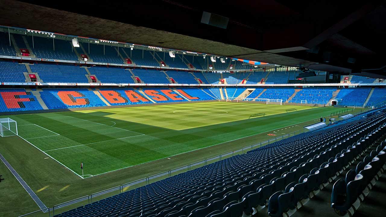 Leeres St. Jakob-Park-Stadion in Basel | (c) 123rf