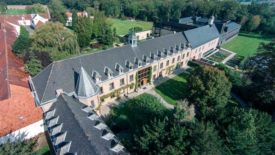 Kloster Sankt Sixtus aus der Vogelperspektive