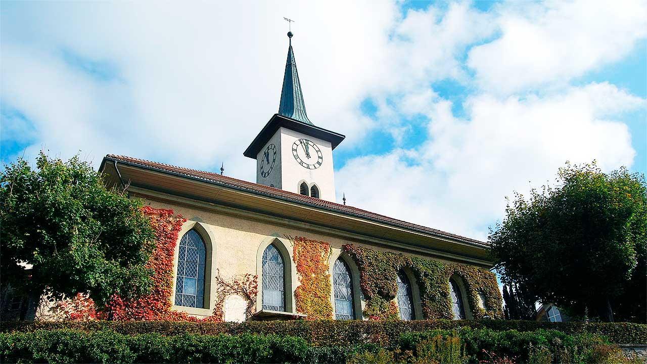 reformierte Kirche von Grosshöchstetten BE