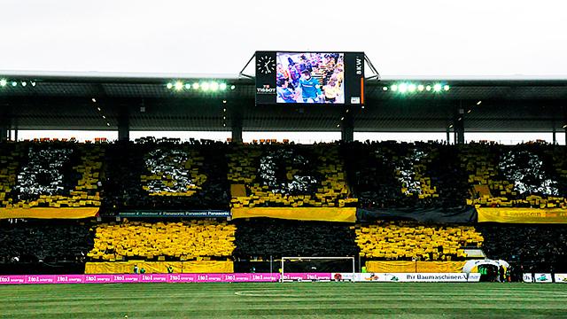 YB-Fans im Wankdorf-Stadion