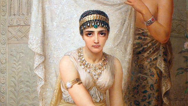 Ausschnitt aus dem Bild «Queen Esther» von Edwin Long