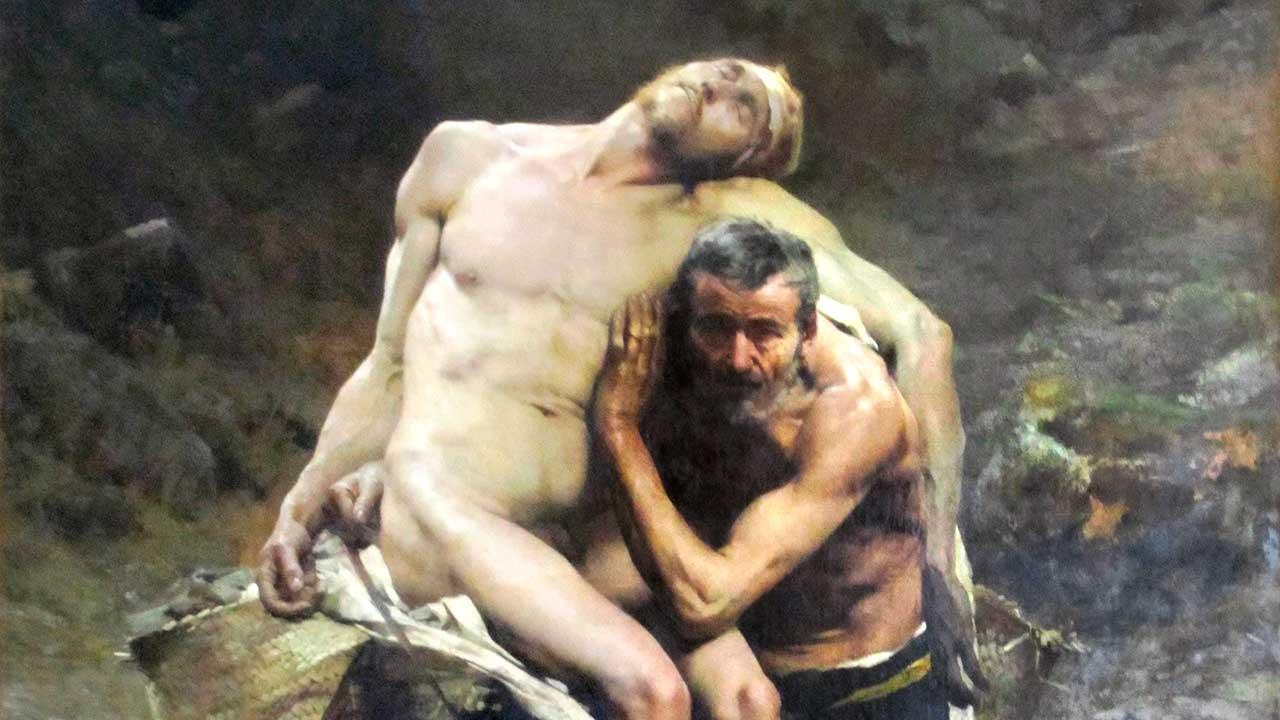 Gemälde «Der Gute Samariter» von Aimé Morot