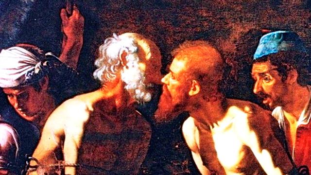 Bild «Abschied der Apostel Petrus und Paulus» von Alonzo Rodriguez